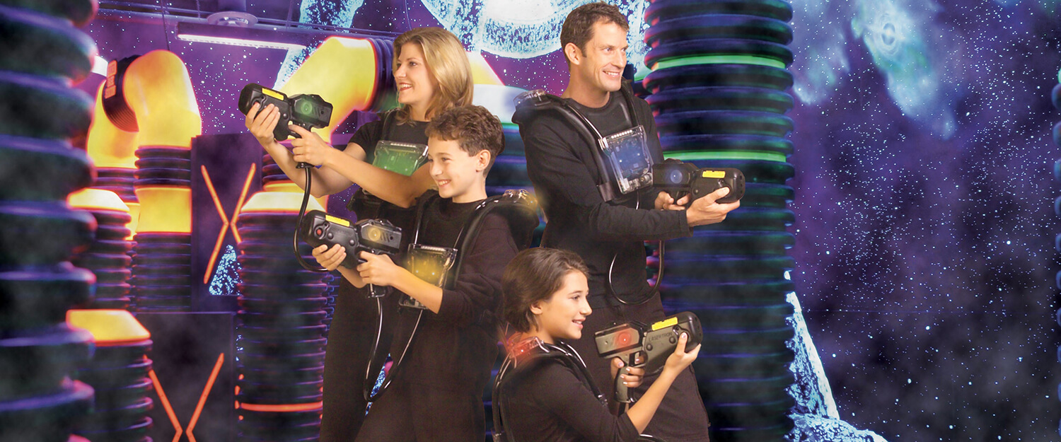 laser tag family