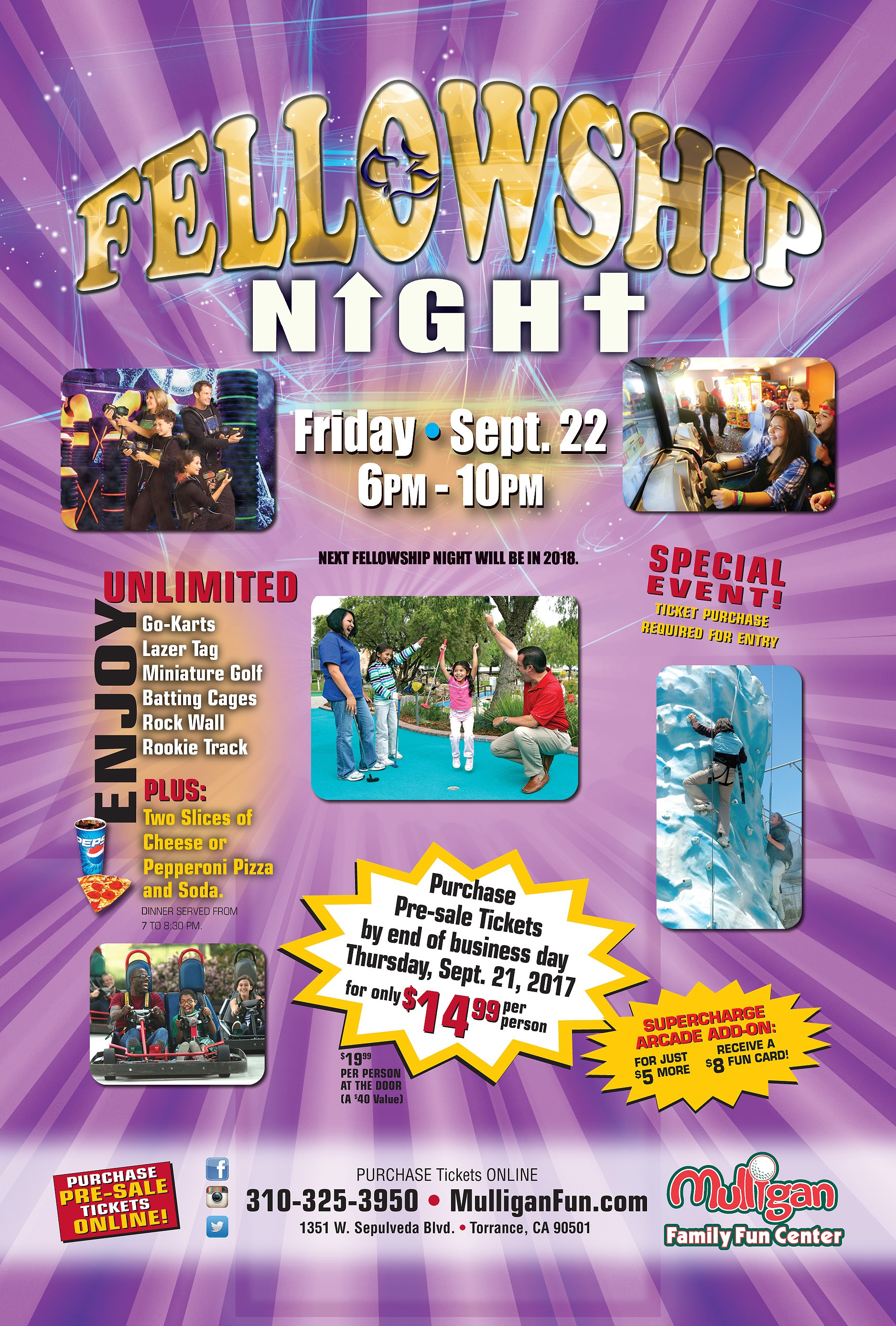 Click Here To View Fellowship Night Flyer